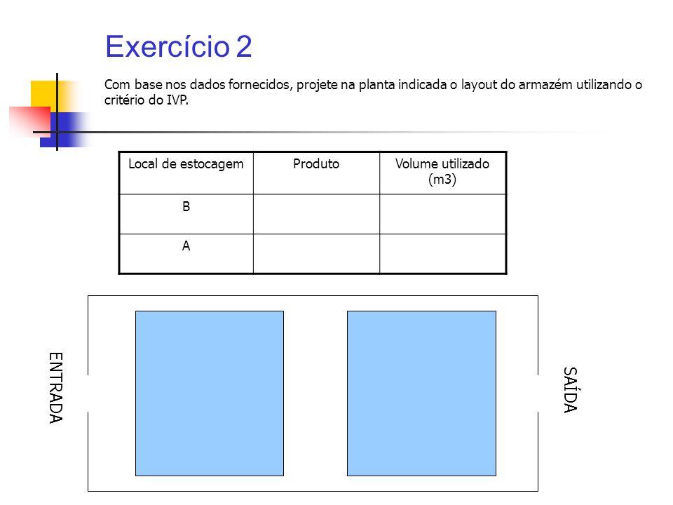 Exercício 2 ENTRADA SAÍDA
