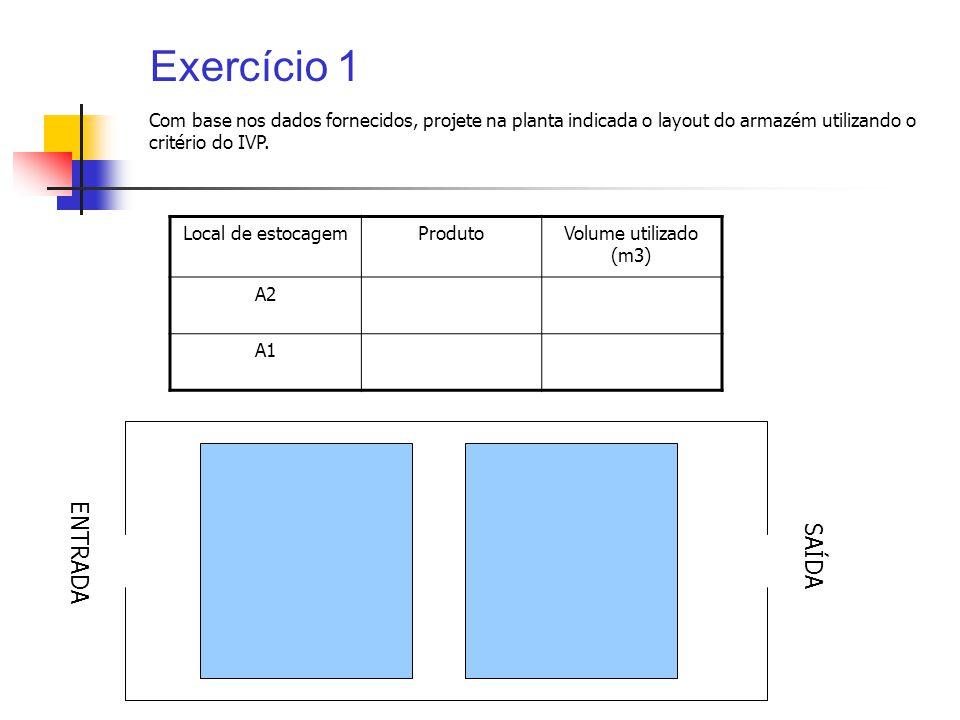 Exercício 1 ENTRADA SAÍDA