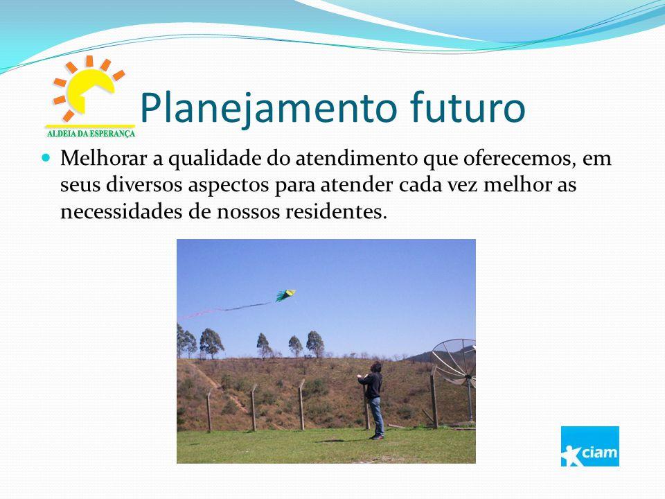 Planejamento futuro