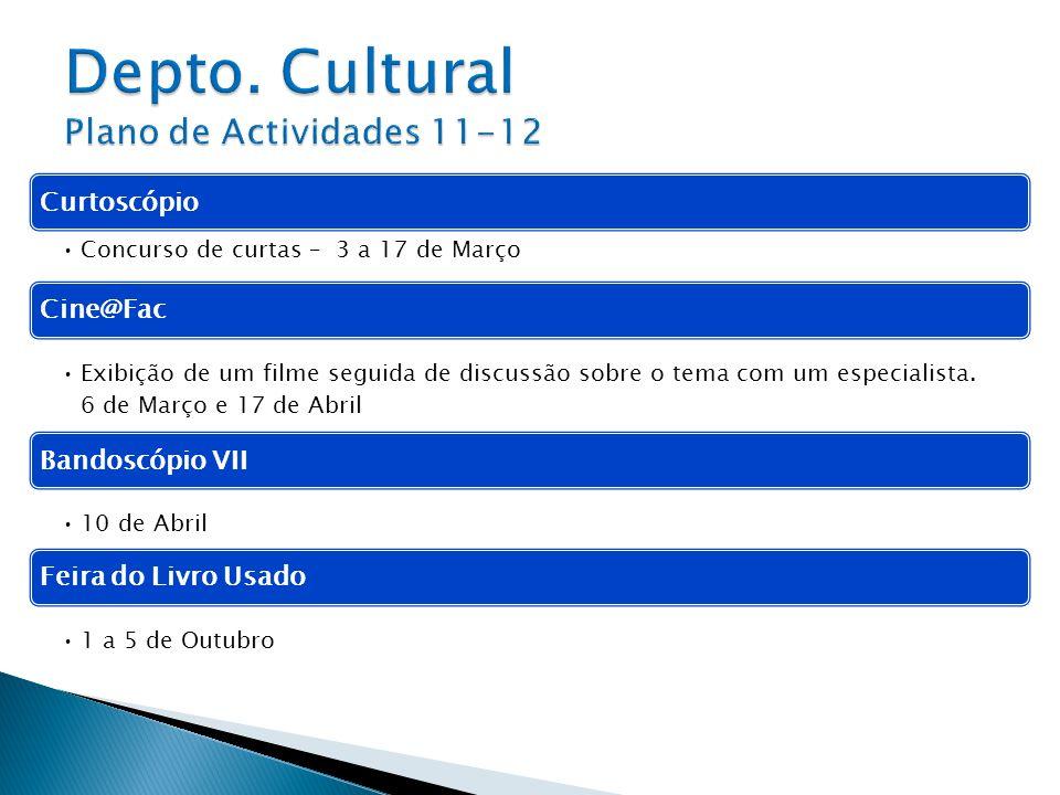Depto. Cultural Plano de Actividades 11-12