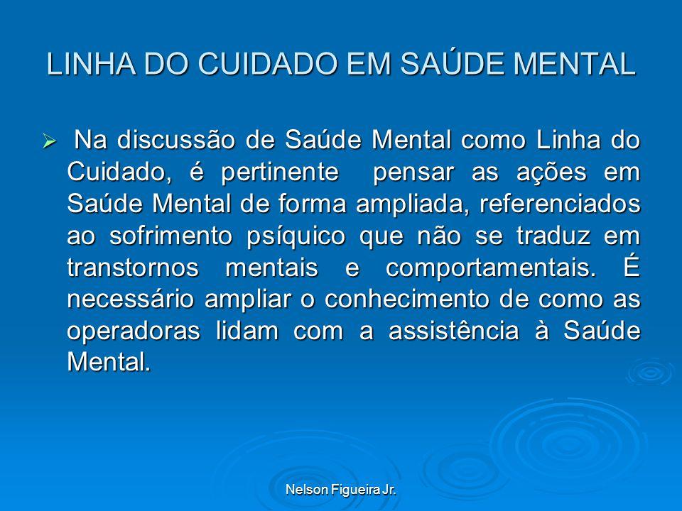 LINHA DO CUIDADO EM SAÚDE MENTAL