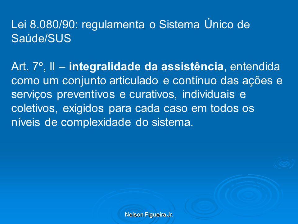 Lei 8.080/90: regulamenta o Sistema Único de Saúde/SUS