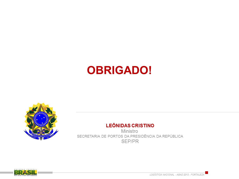 SECRETARIA DE PORTOS DA PRESIDÊNCIA DA REPÚBLICA