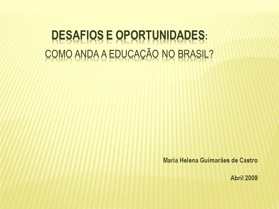 Desafios e Oportunidades: como anda a Educação no Brasil