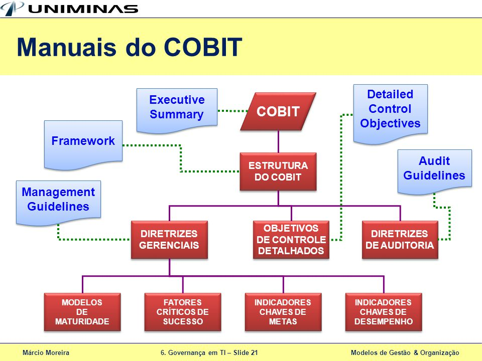 Manuais do COBIT COBIT Detailed Executive Control Summary Objectives