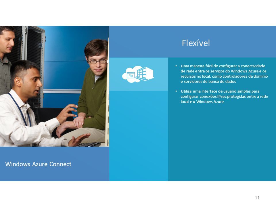 Flexível Windows Azure Connect