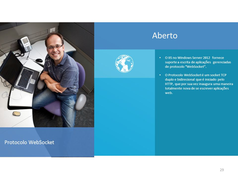 Aberto Protocolo WebSocket