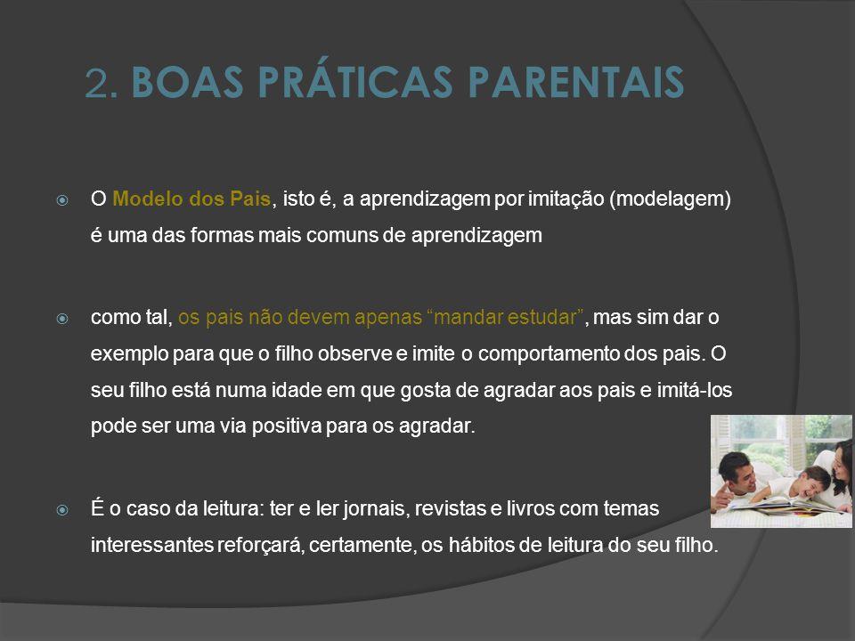 2. BOAS PRÁTICAS PARENTAIS