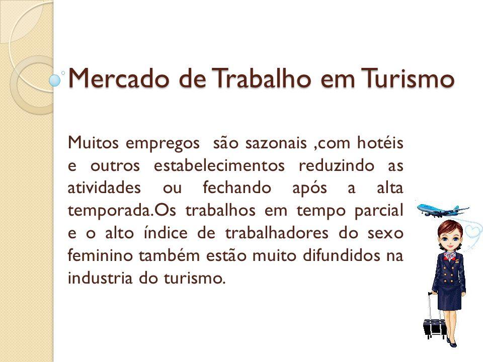 Mercado de Trabalho em Turismo