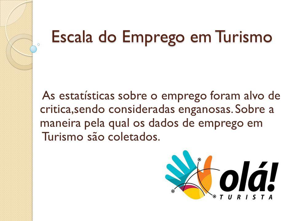 Escala do Emprego em Turismo