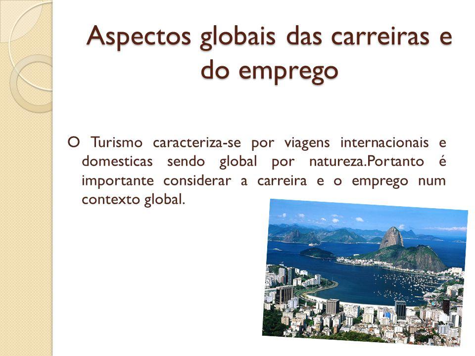 Aspectos globais das carreiras e do emprego