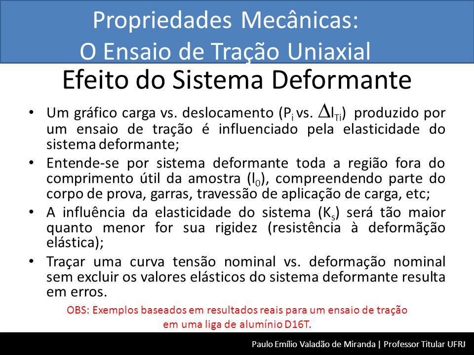 Efeito do Sistema Deformante