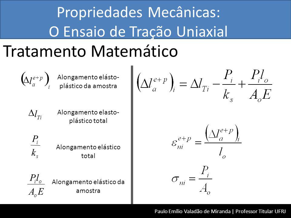Tratamento Matemático