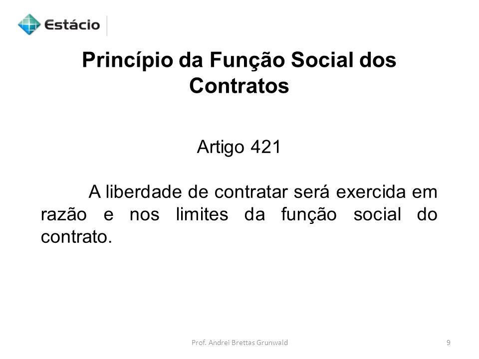 Princípio da Função Social dos Contratos