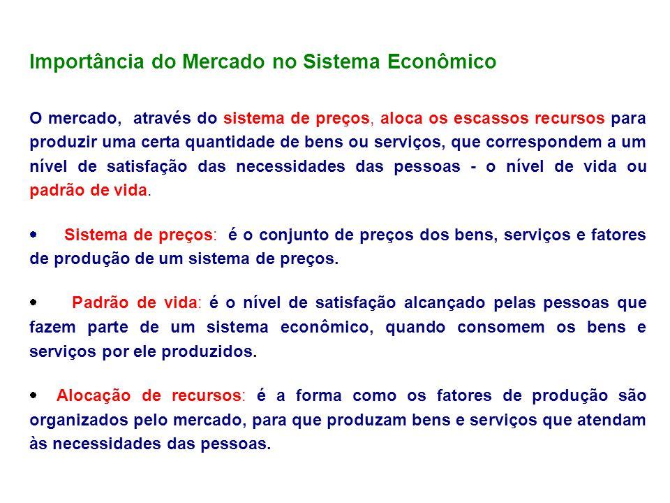 Importância do Mercado no Sistema Econômico