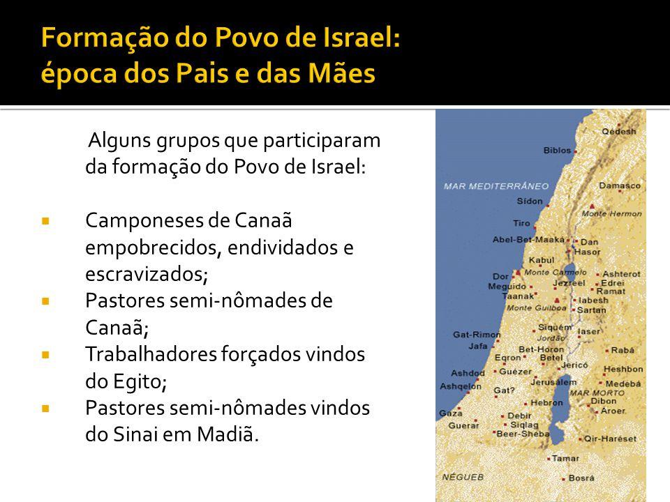 Formação do Povo de Israel: época dos Pais e das Mães