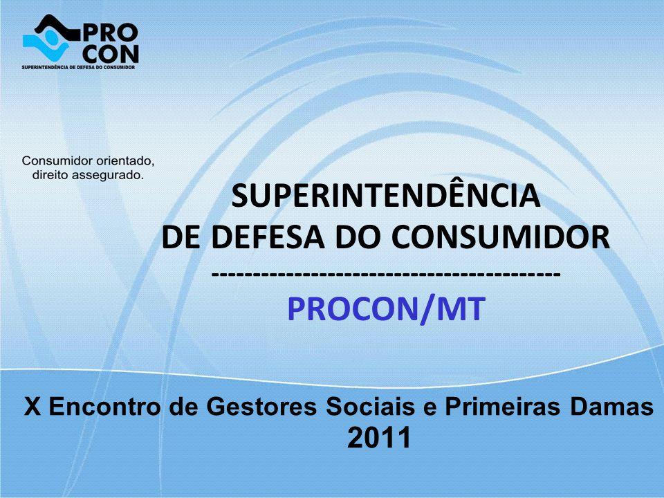 X Encontro de Gestores Sociais e Primeiras Damas 2011