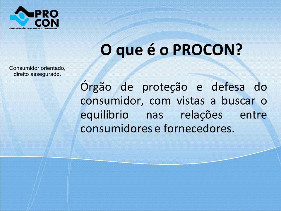 O que é o PROCON.