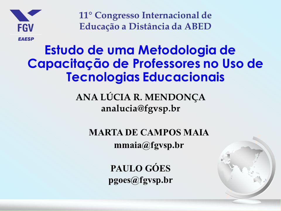 11° Congresso Internacional de Educação a Distância da ABED