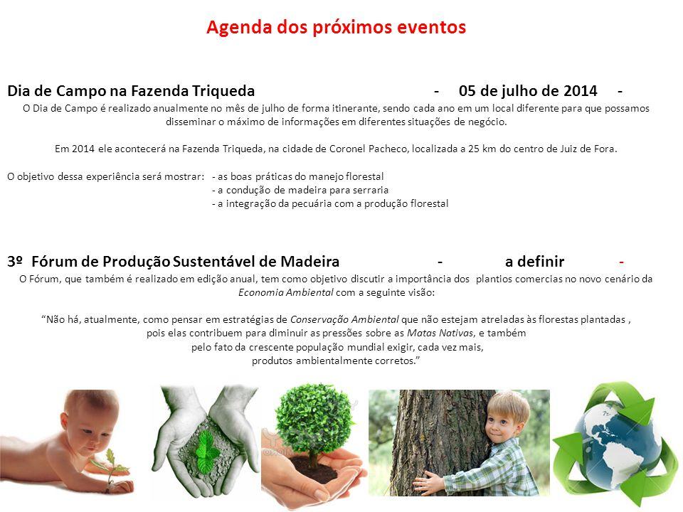 Agenda dos próximos eventos