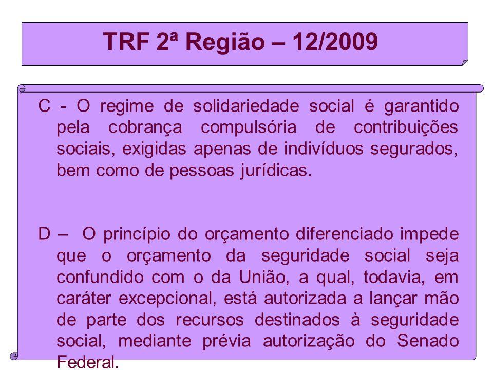 TRF 2ª Região – 12/2009