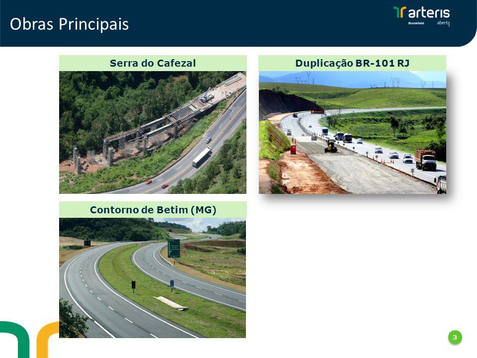 Obras Principais Serra do Cafezal Duplicação BR-101 RJ