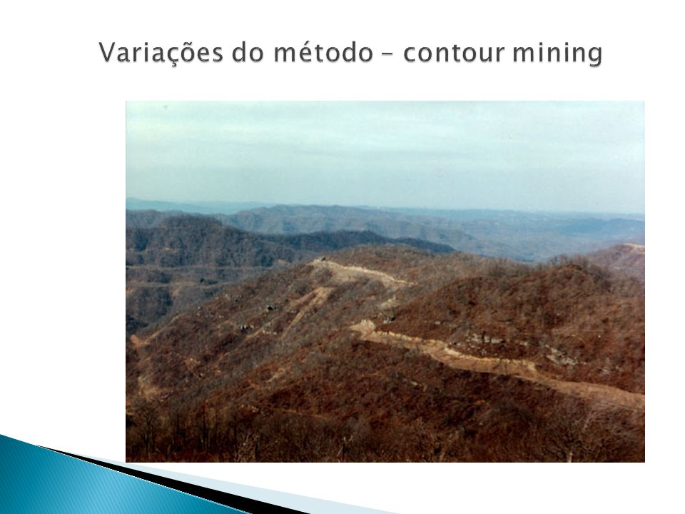 Variações do método – contour mining