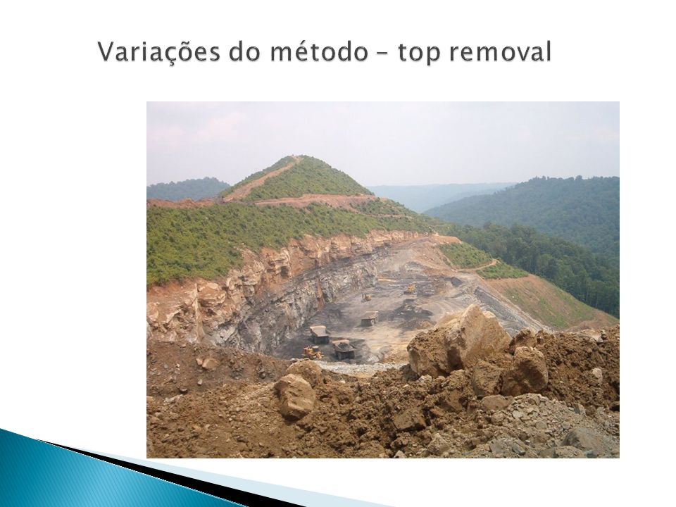 Variações do método – top removal