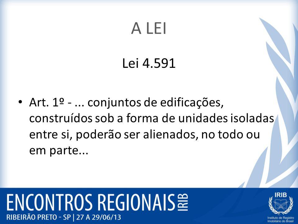 A LEI Lei 4.591.
