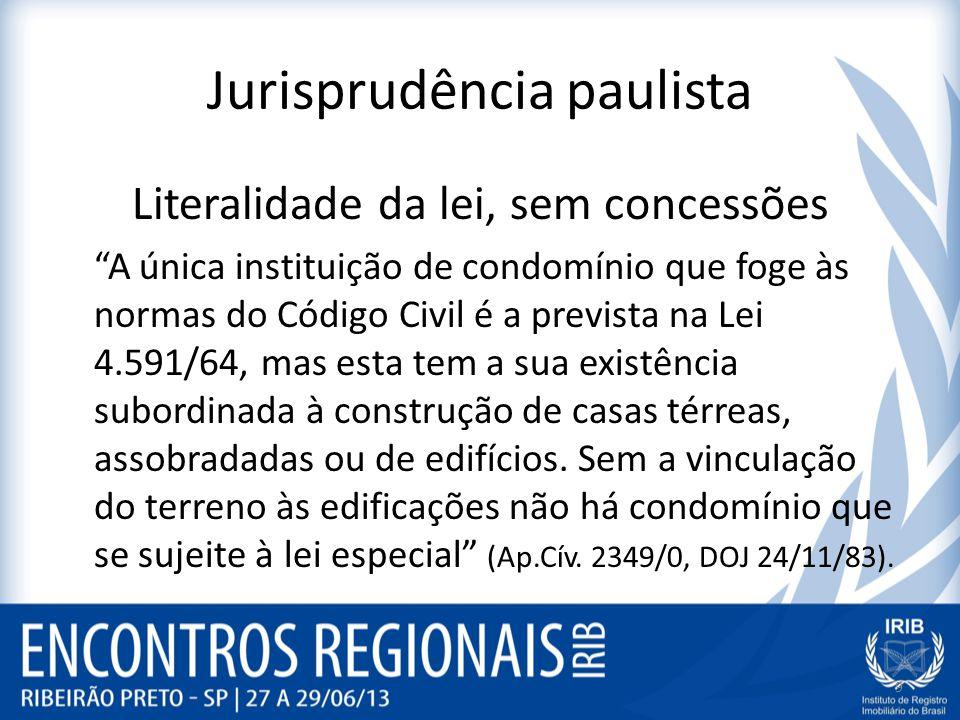 Jurisprudência paulista