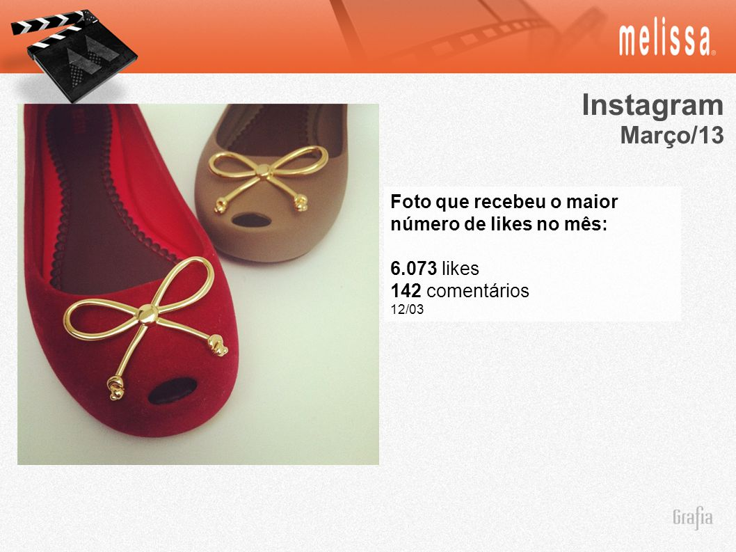 Instagram Março/13 Foto que recebeu o maior número de likes no mês:
