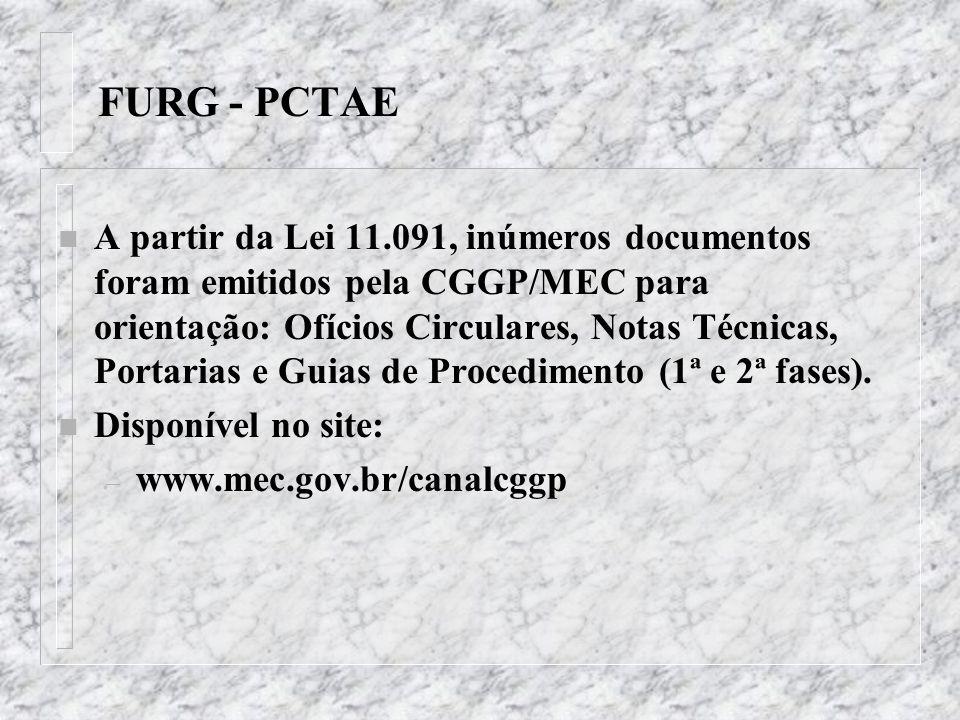 FURG - PCTAE