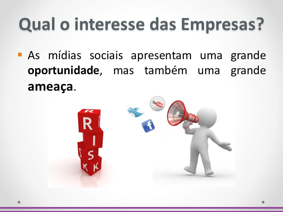 Qual o interesse das Empresas