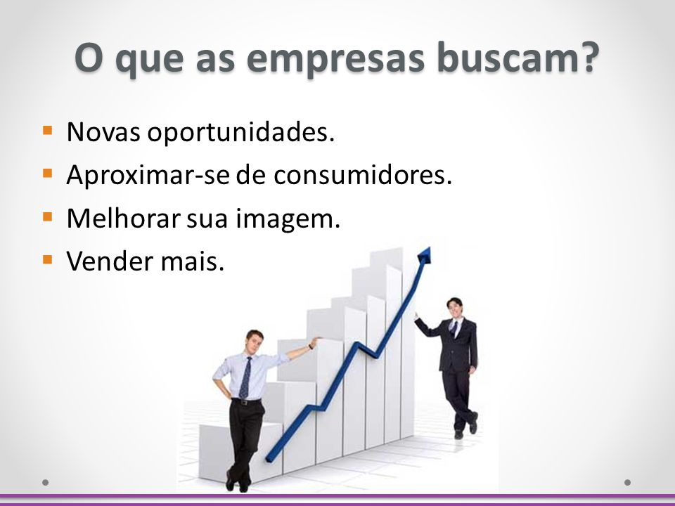 O que as empresas buscam