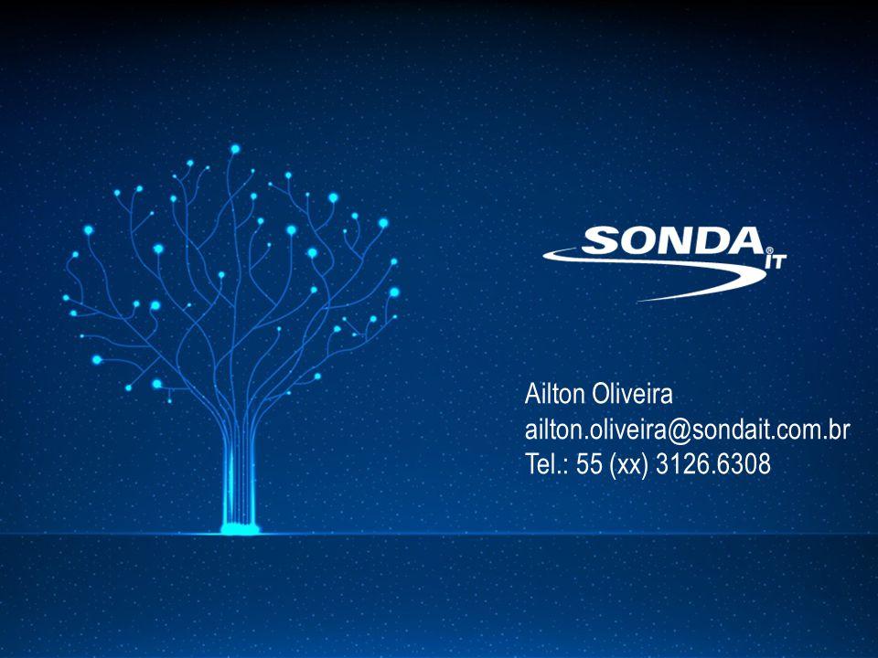 Ailton Oliveira ailton.oliveira@sondait.com.br Tel.: 55 (xx) 3126.6308