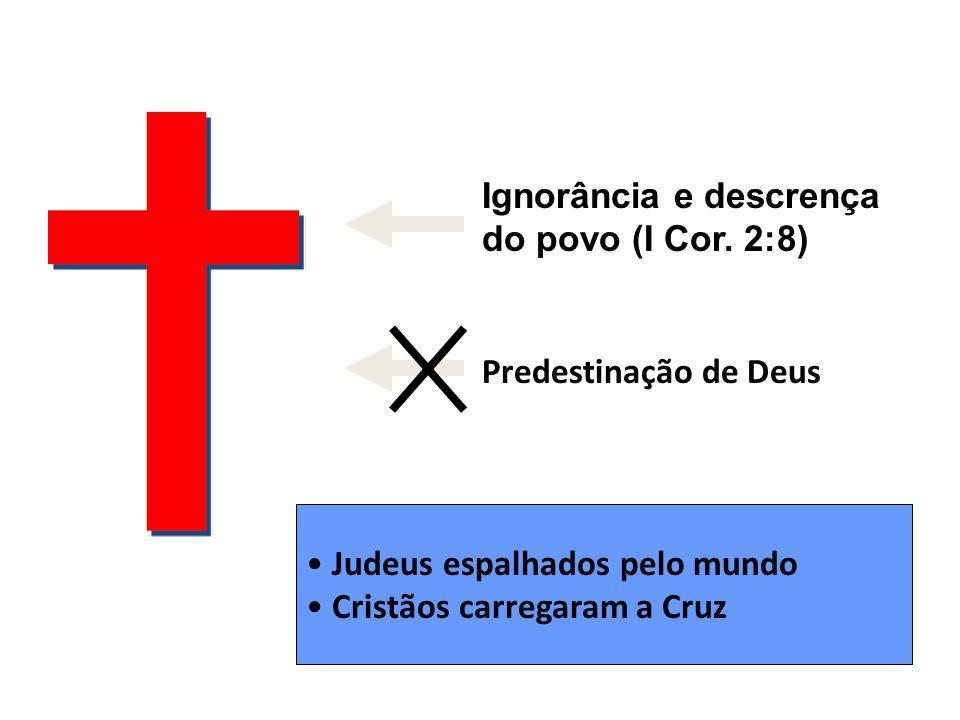 Ignorância e descrença do povo (I Cor. 2:8)