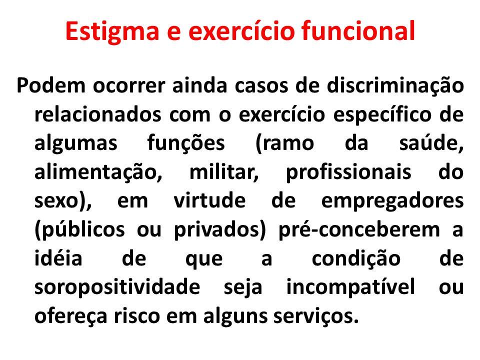 Estigma e exercício funcional