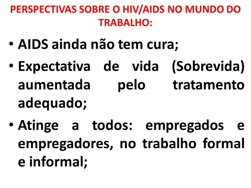 PERSPECTIVAS SOBRE O HIV/AIDS NO MUNDO DO TRABALHO: