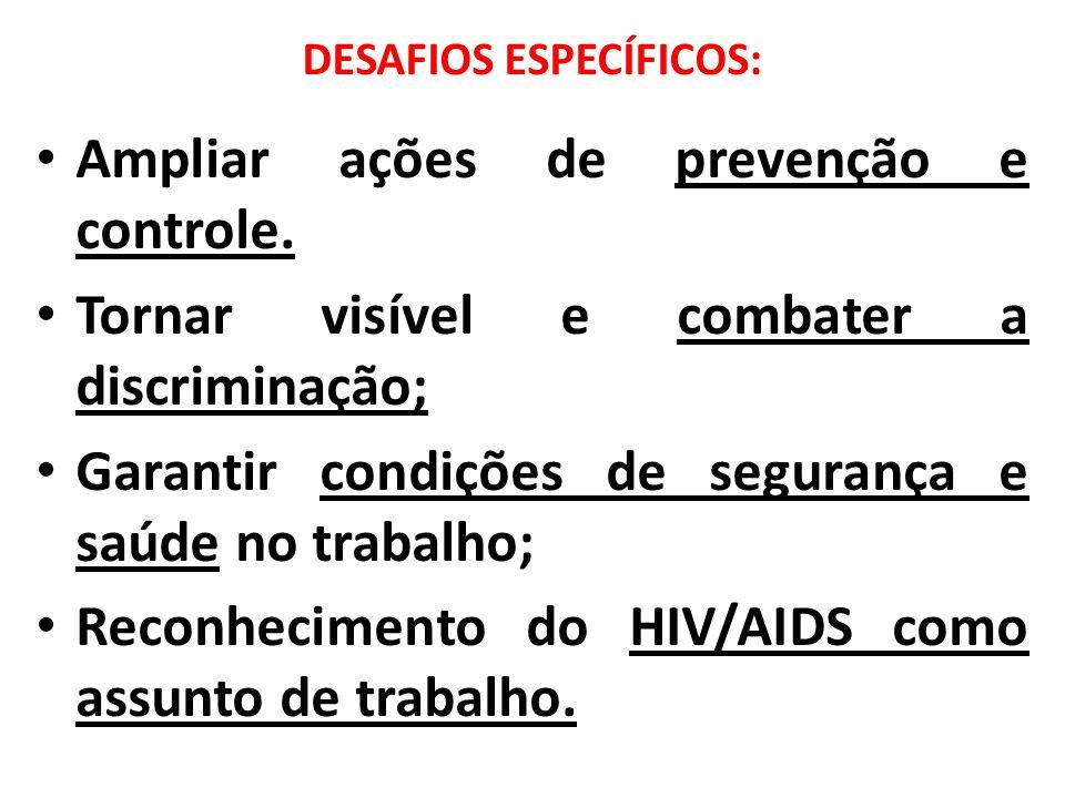 DESAFIOS ESPECÍFICOS: