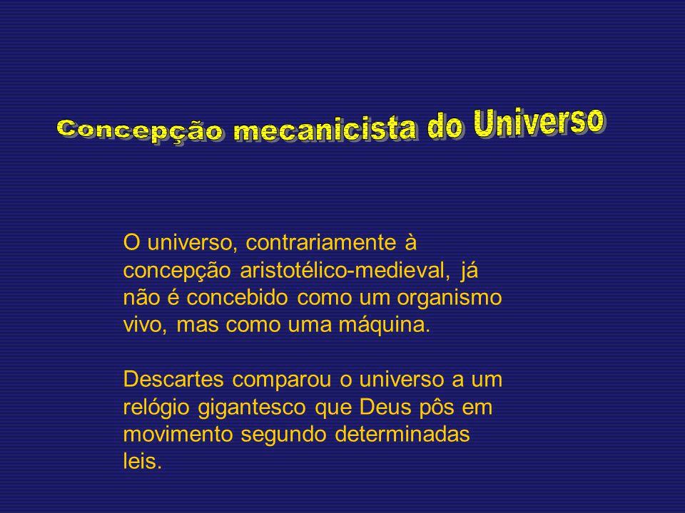Concepção mecanicista do Universo