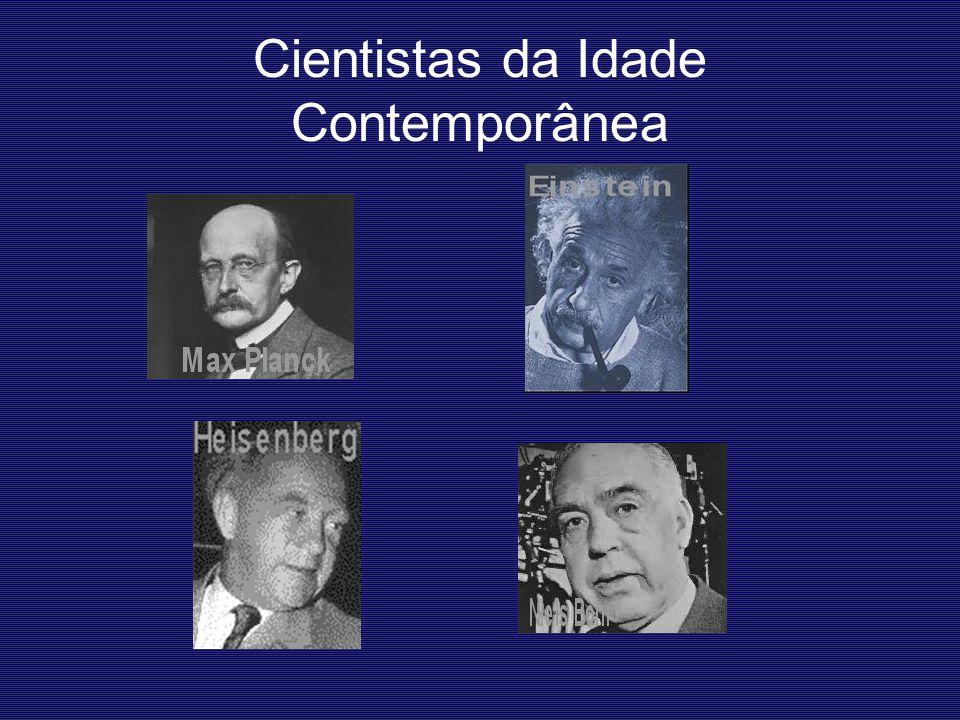 Cientistas da Idade Contemporânea
