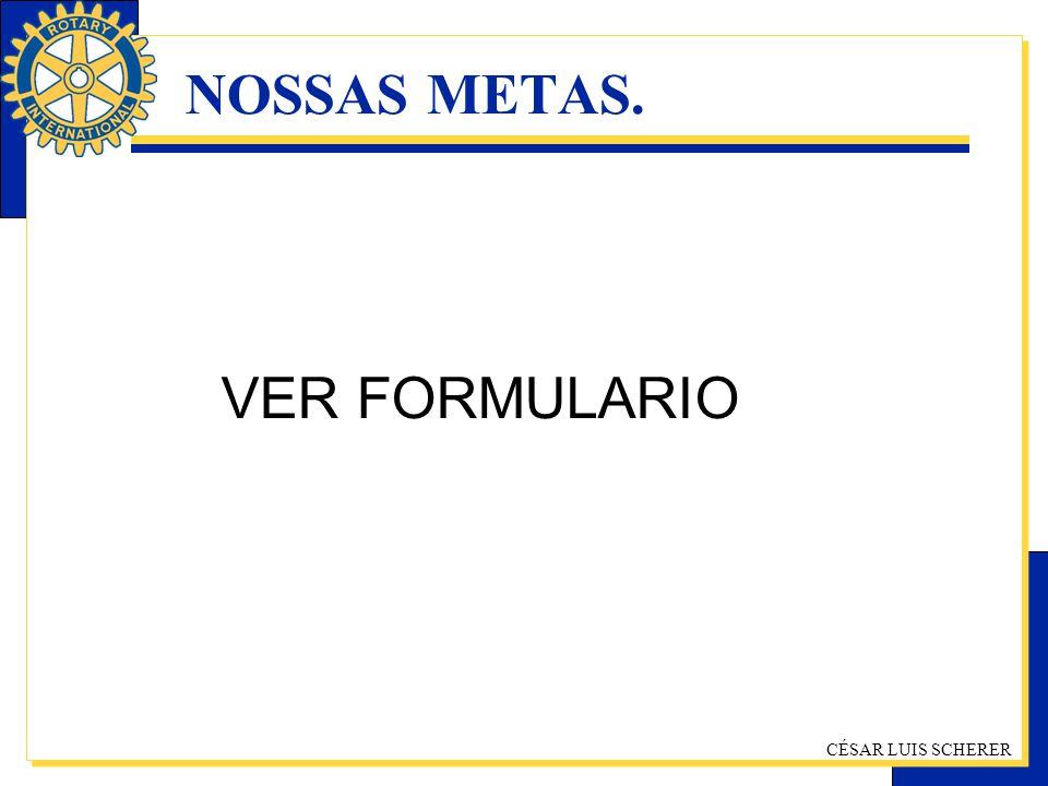 NOSSAS METAS. VER FORMULARIO