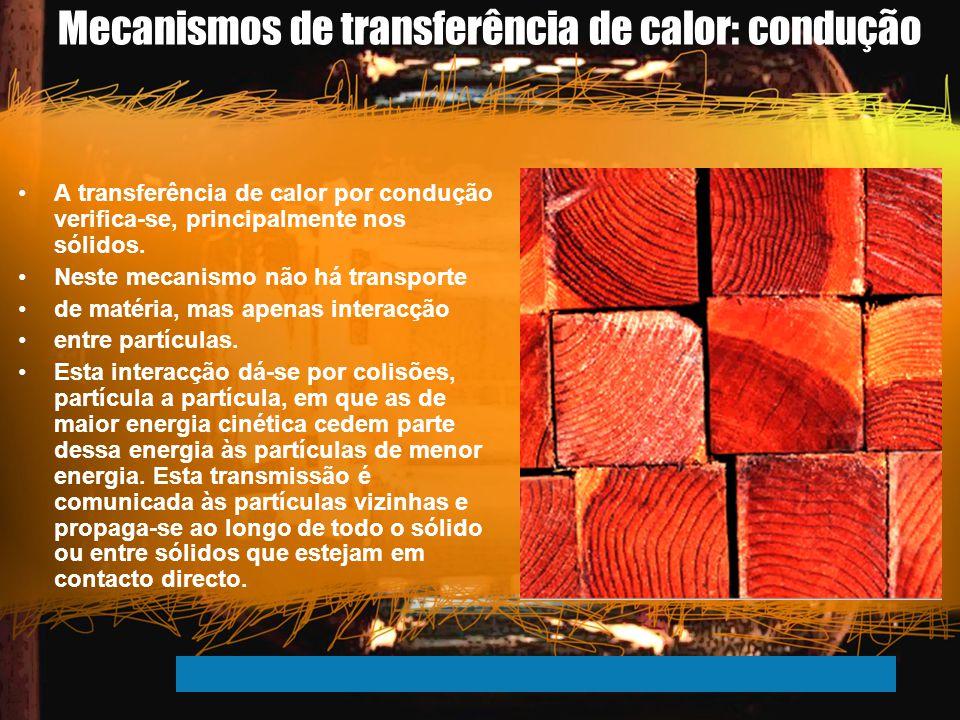 Mecanismos de transferência de calor: condução