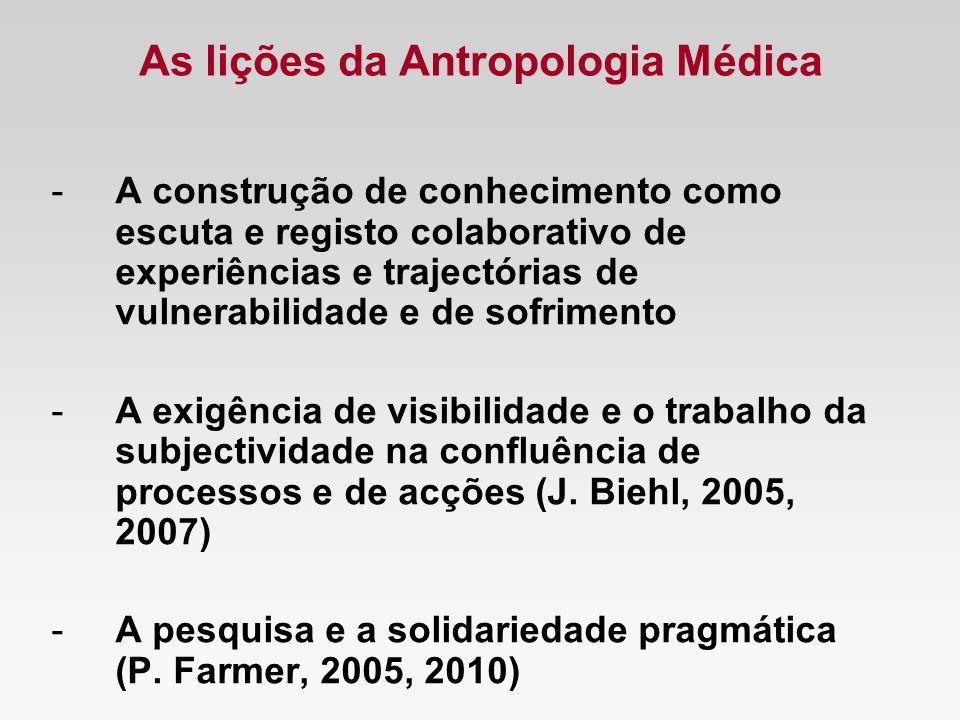 As lições da Antropologia Médica