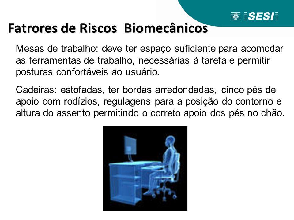 Fatrores de Riscos Biomecânicos