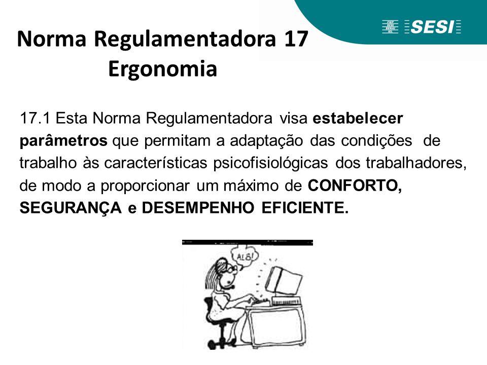 Norma Regulamentadora 17 Ergonomia