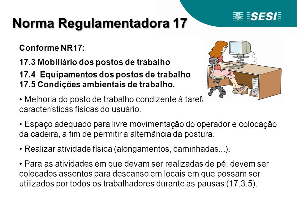 Norma Regulamentadora 17