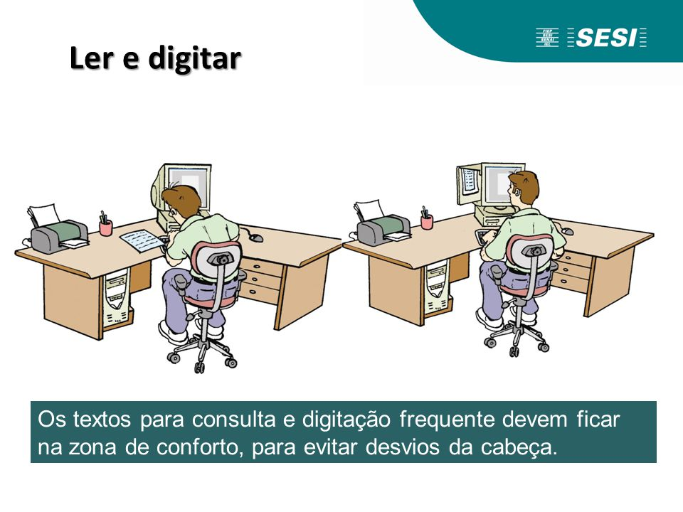 Ler e digitar