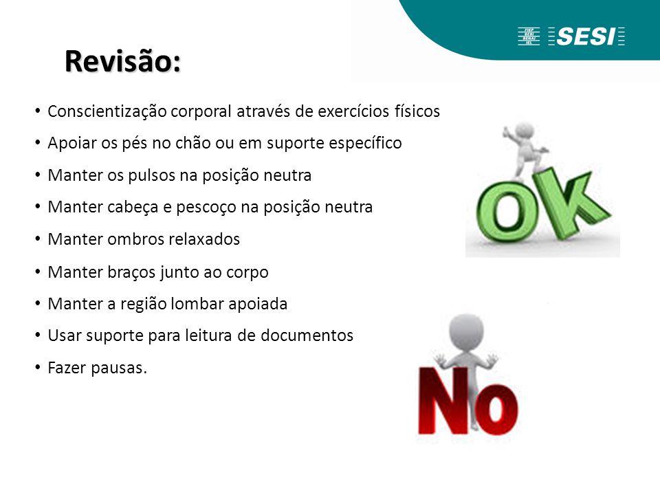 Revisão: Conscientização corporal através de exercícios físicos
