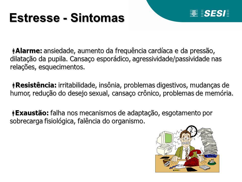 Estresse - Sintomas